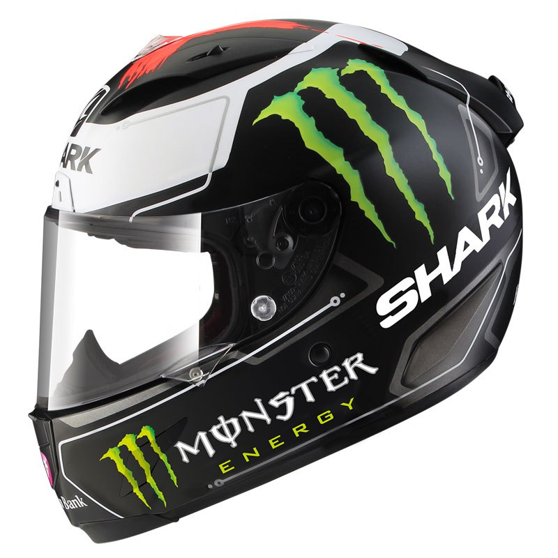 casque shark race r pro replica lorenzo monster mat edition limit e casque int gral. Black Bedroom Furniture Sets. Home Design Ideas