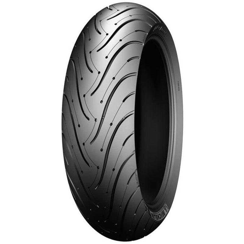 pneumatique michelin pilot road 3 160 60 zr 17 69w tl pneus roues. Black Bedroom Furniture Sets. Home Design Ideas