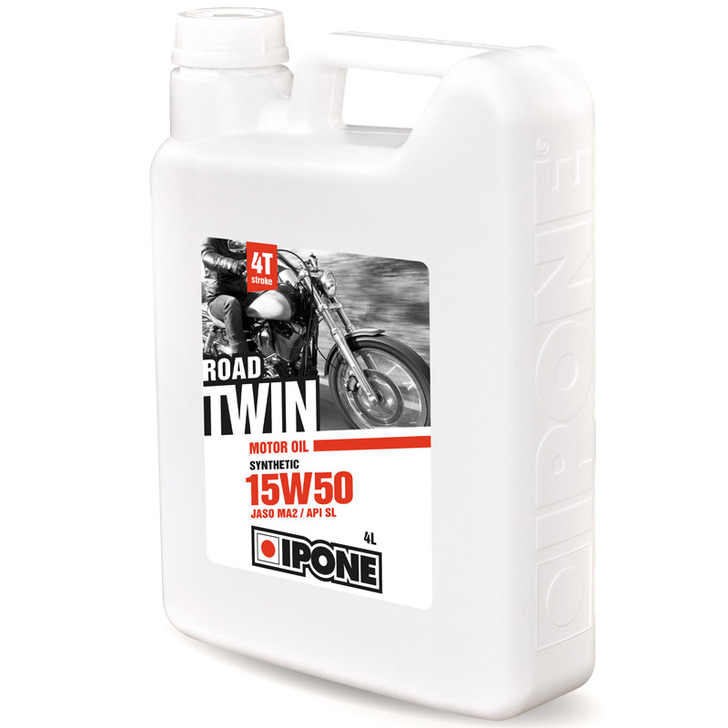 Huile moteur Ipone ROAD TWIN - 4 LITRES