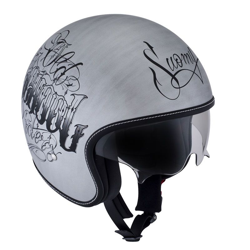 casque suomy rokk old school rider scratch annuaire moto. Black Bedroom Furniture Sets. Home Design Ideas