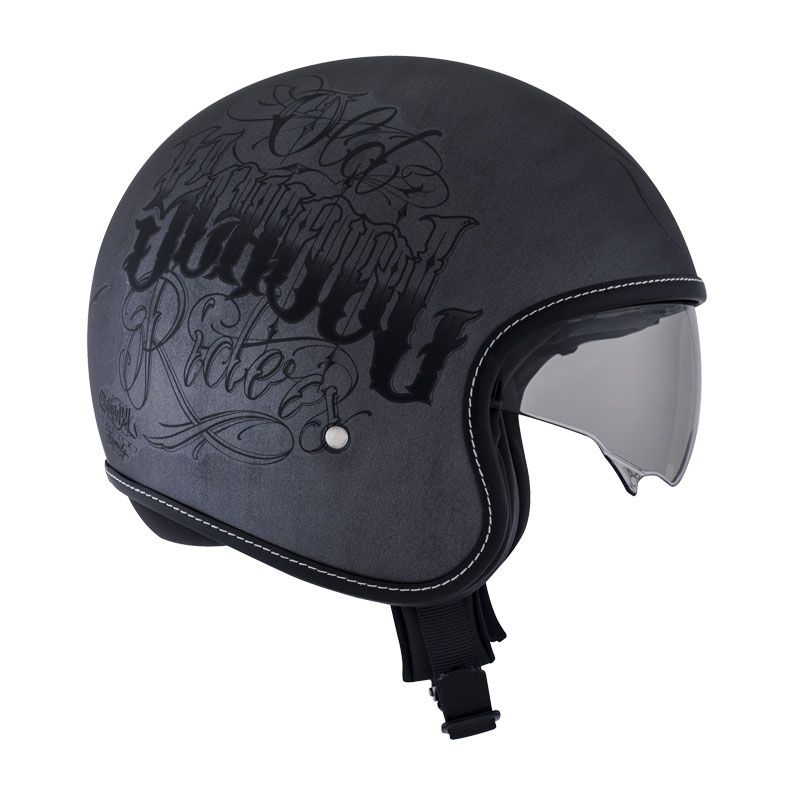 casque suomy rokk old school rider scratch casque jet. Black Bedroom Furniture Sets. Home Design Ideas