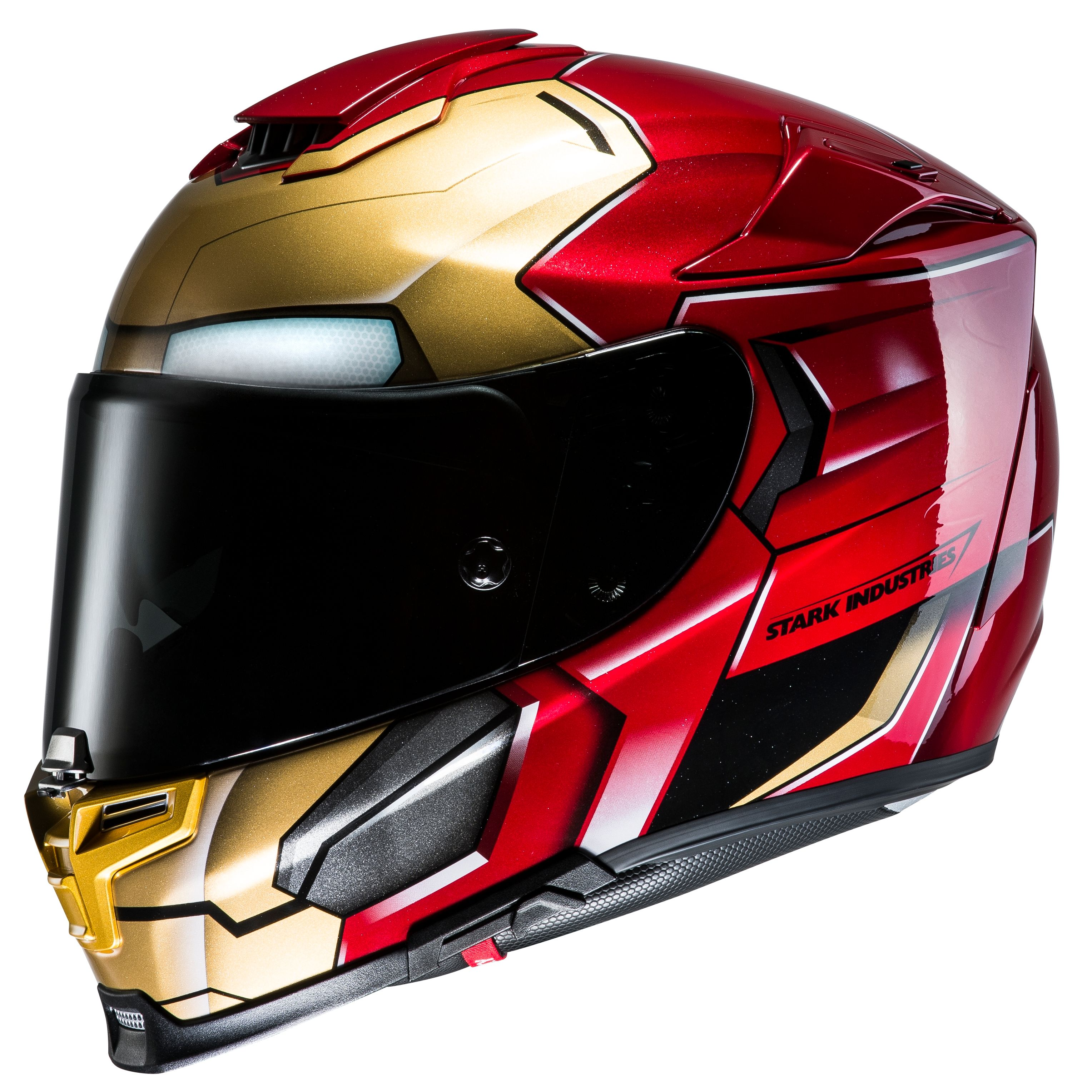 casque hjc rpha 70 iron man homecoming casque int gral. Black Bedroom Furniture Sets. Home Design Ideas
