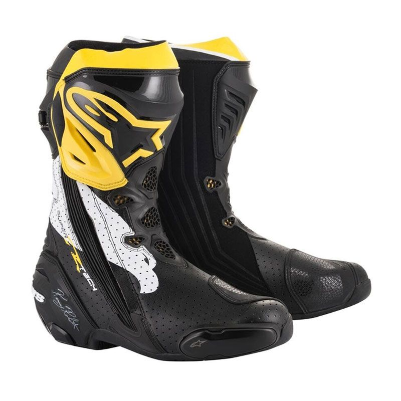 Bottes Alpinestars SUPERTECH R BOOT - KENNY ROBERTS - LIMITED EDITION