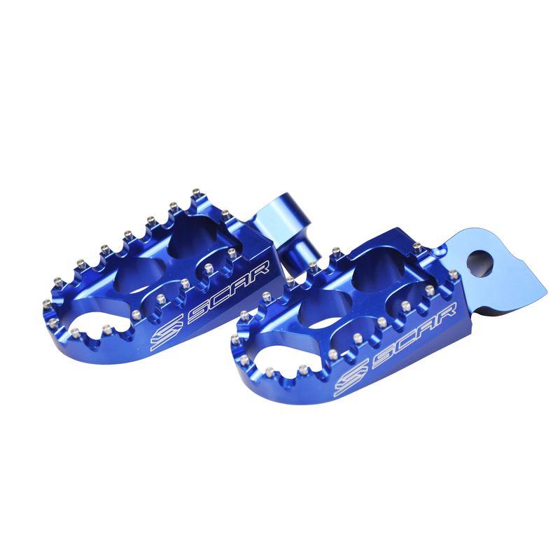 Repose-pieds Scar Standard Bleu