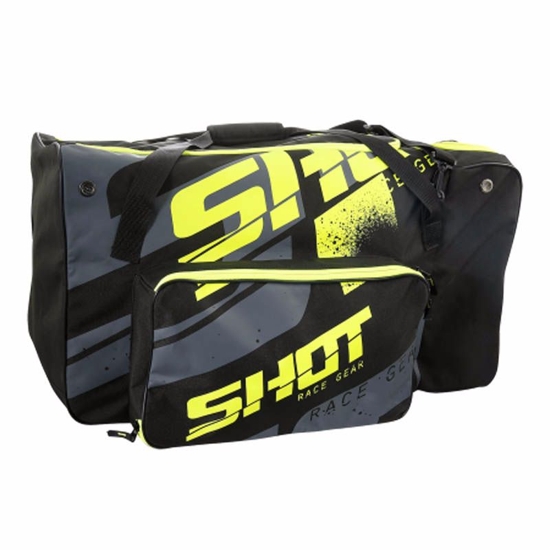 sac de rangement shot sport bag black neon yellow protection et accessoires cross. Black Bedroom Furniture Sets. Home Design Ideas
