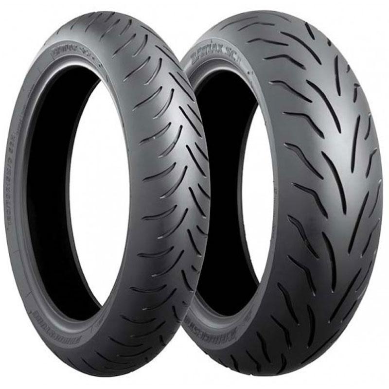 Pneu Bridgestone Sc1 120/70 R 14 (55h) Tl