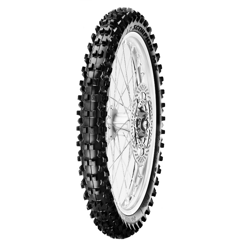 Pneumatique Pirelli SCORPION MX 32 MIDDLE SOFT 80/100 - 12 (50M) NHS TTTT