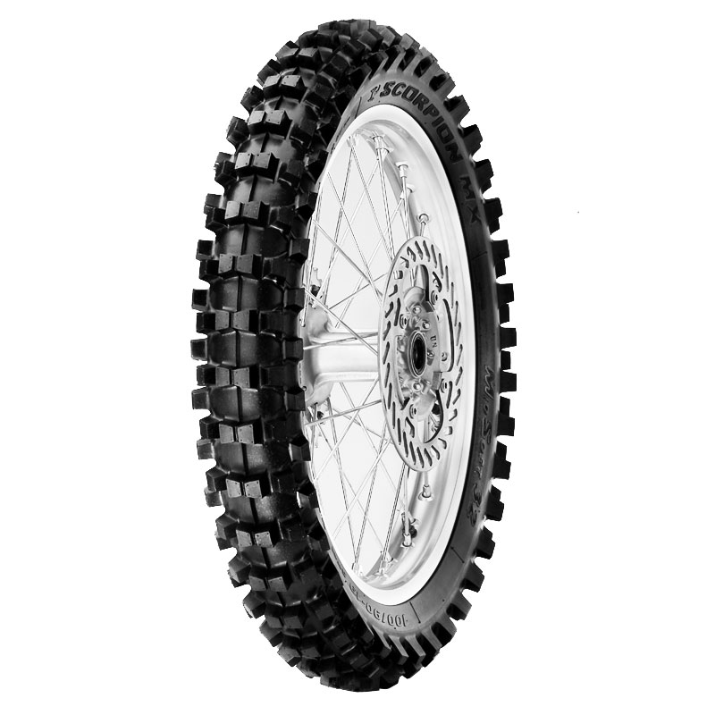 Pneumatique Pirelli SCORPION MX MIDDLE SOFT 32 110/90 M 19 NHS (62M) TT