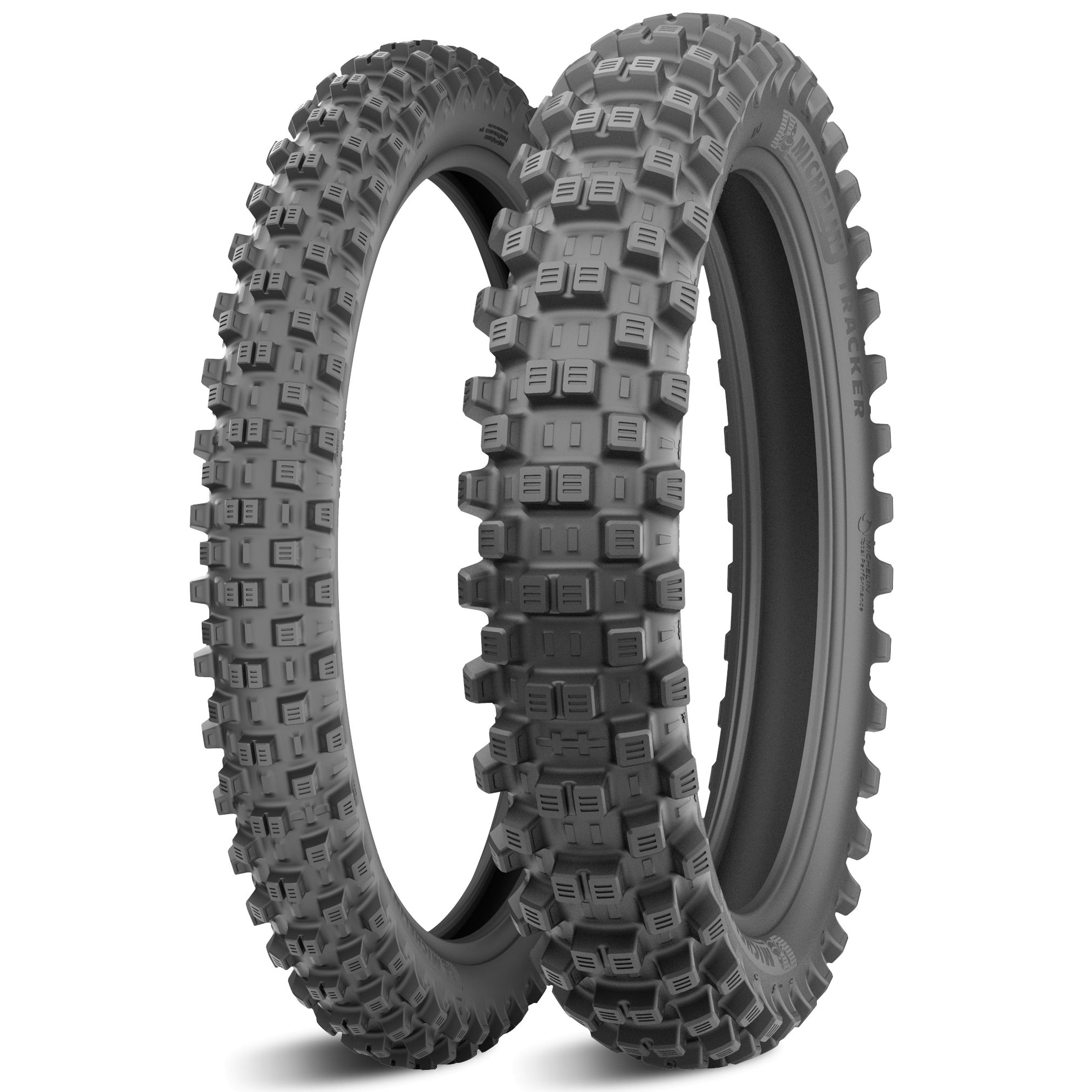 Pneumatique Michelin TRACKER 120/90 - 18 (65R) TT