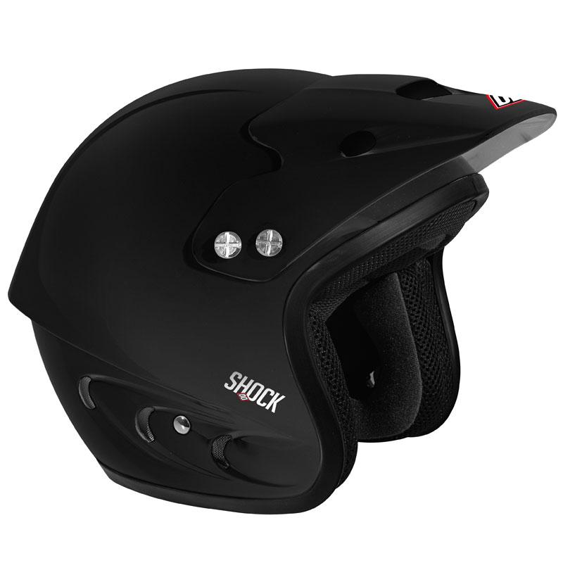 Casque trial Shot SHOCK NOIR MAT
