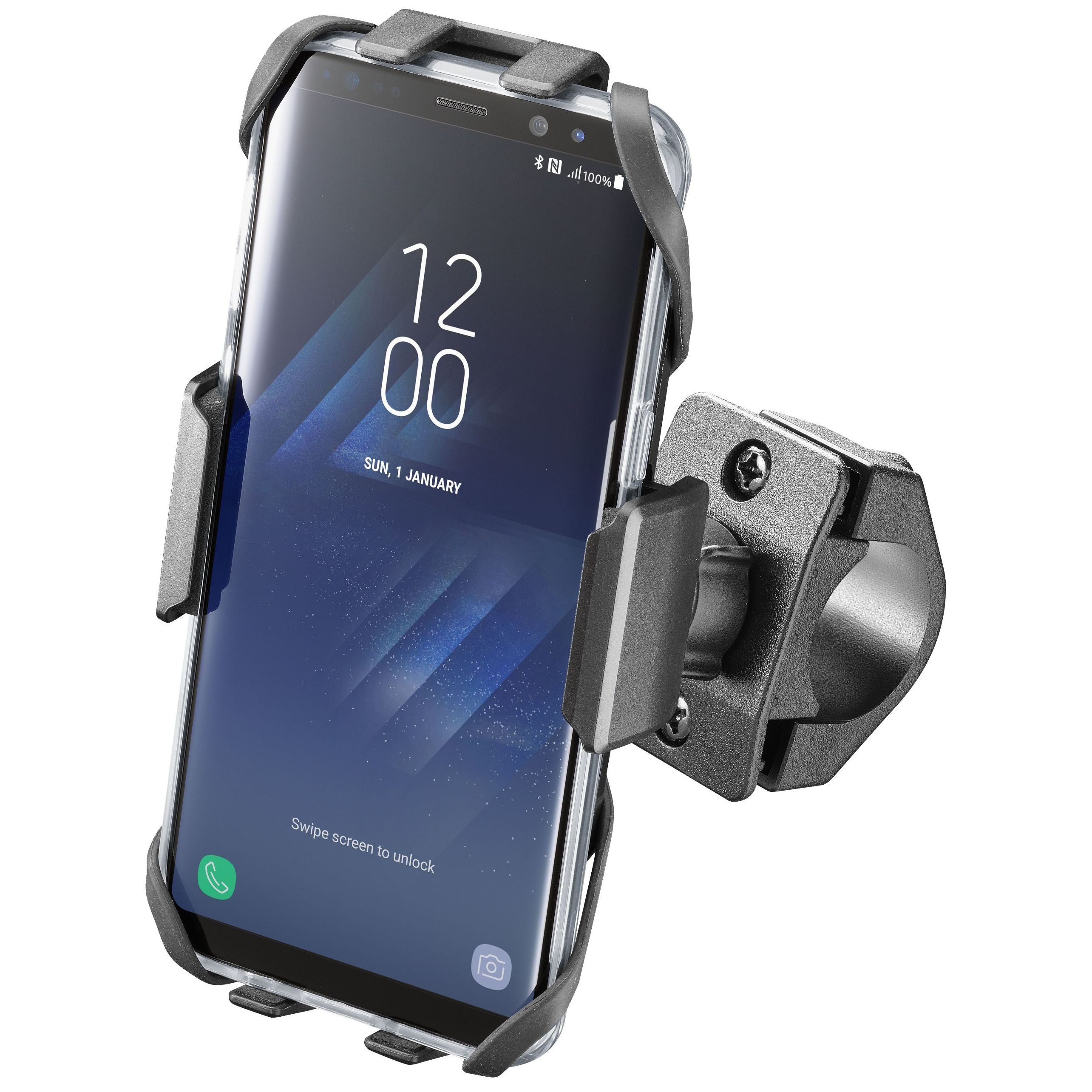 Coque de protection Cellular line COQUE SMARTPHONE AVEC SUPPORT MOTO CRAB