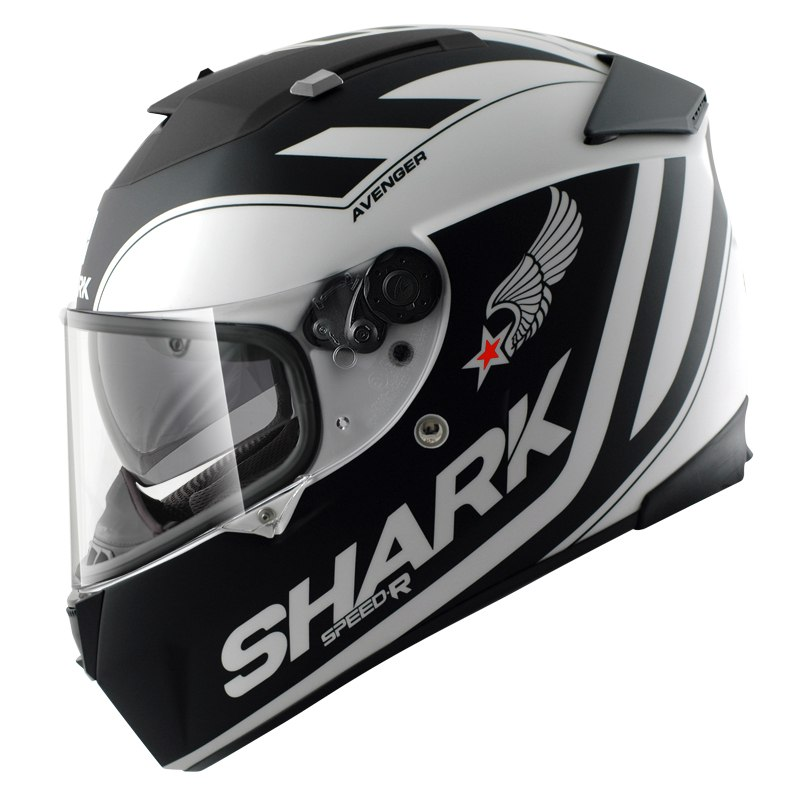 casque shark speed r max vision avenger mat casque int gral. Black Bedroom Furniture Sets. Home Design Ideas