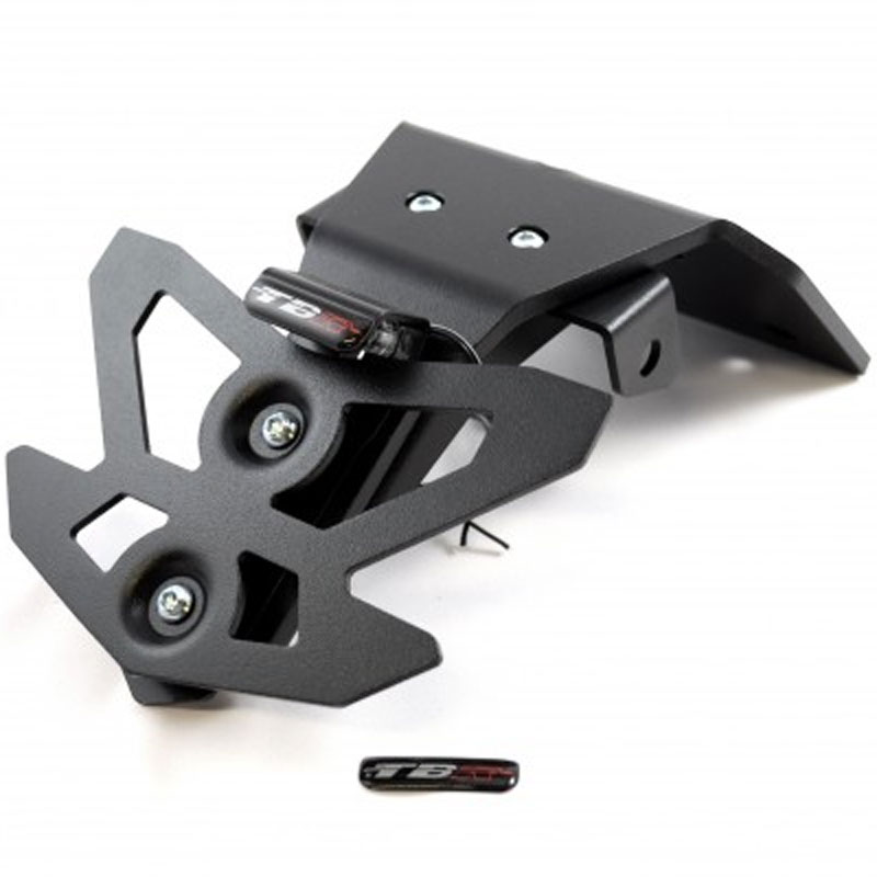support de plaque top block support plaque noir gsr 750 habillage moto. Black Bedroom Furniture Sets. Home Design Ideas
