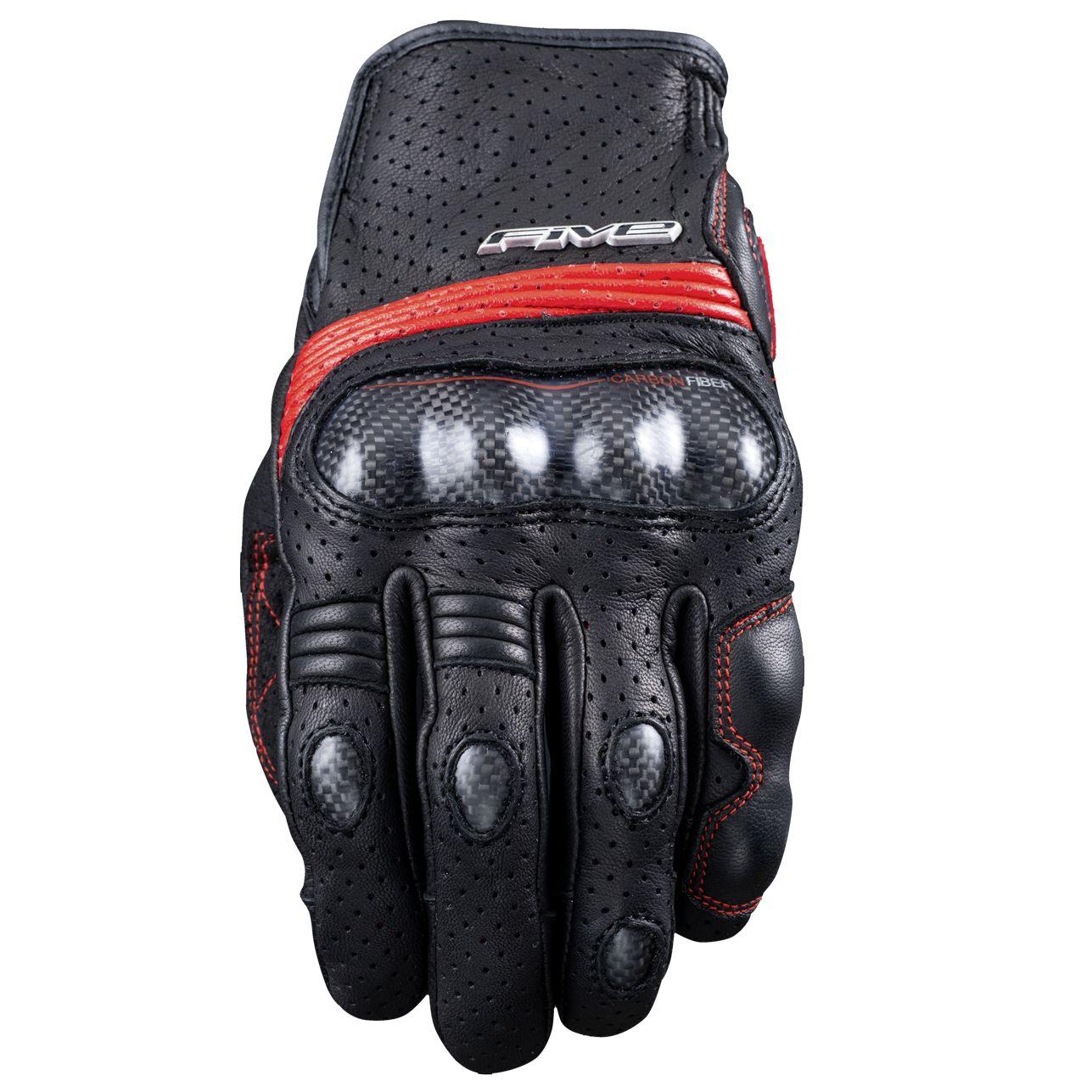 gants five sportcity s carbon gants moto. Black Bedroom Furniture Sets. Home Design Ideas