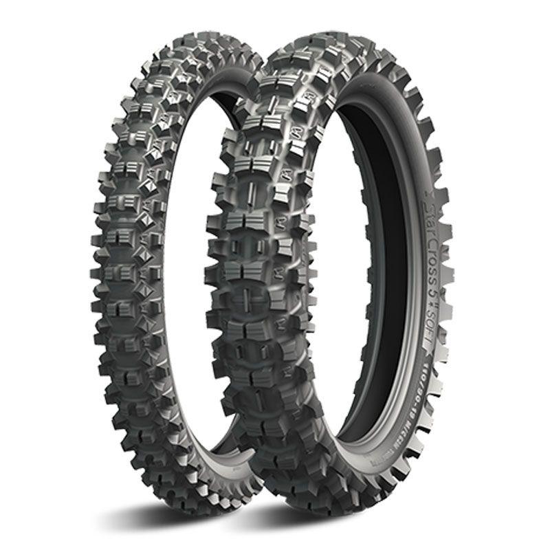 Pneu Michelin Starcross 5 Soft 90/100-21 (57m) Tt