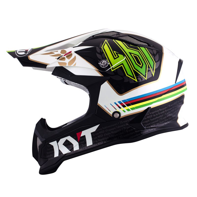 Casque Cross Kyt Strike Eagle Romain Febvre
