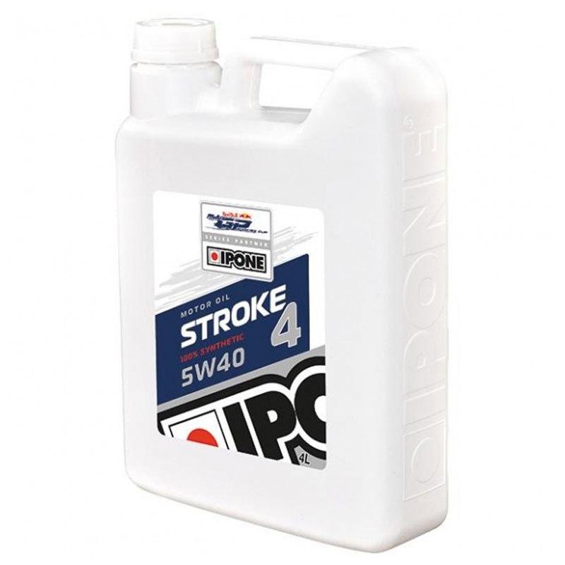 huile moteur ipone stroke 4 5w40 100 synth se 4 litres huiles lubrifiants. Black Bedroom Furniture Sets. Home Design Ideas
