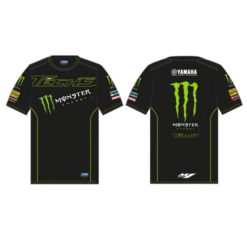 T-shirt Manches Courtes Tech3 Monster Custom 2