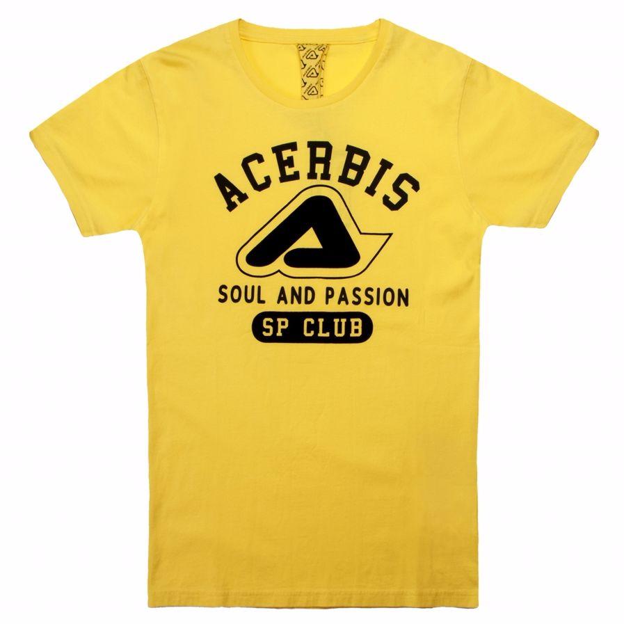 T-shirt Manches Courtes Acerbis Varsity Sp Club - 2018