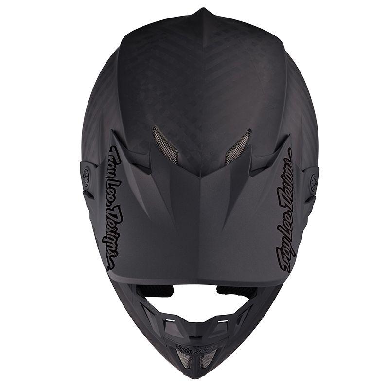 Casque Motocross Troy Lee Designs 2018 Se4 Mono Polyacrylite Noir S , Noir