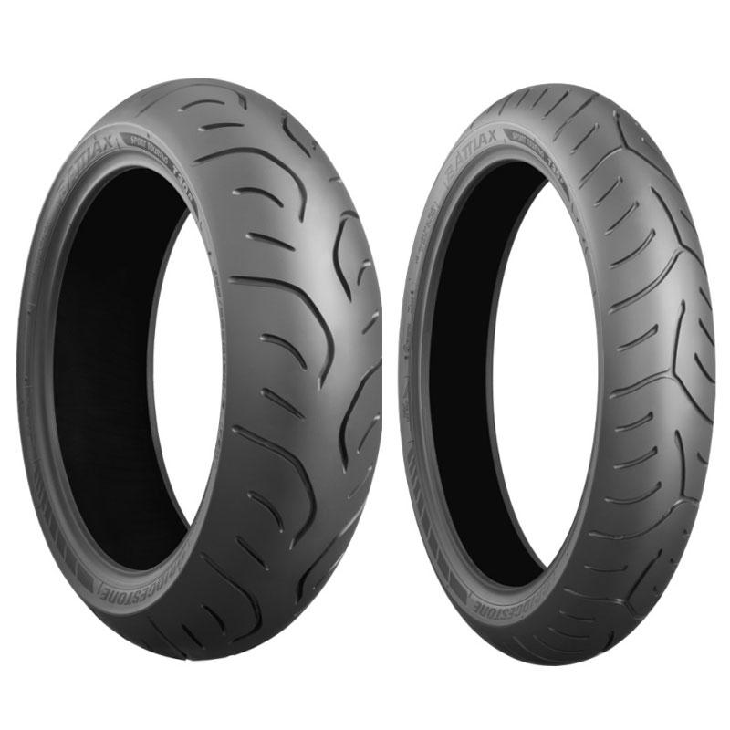 Pneu Bridgestone Battlax T30 110/80 Zr 18 (58w) Tl