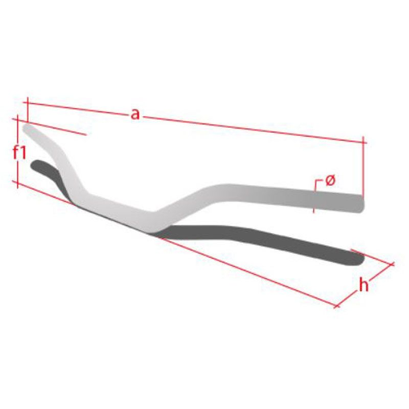 Guidon Neken standard K-Bar 28.6mm