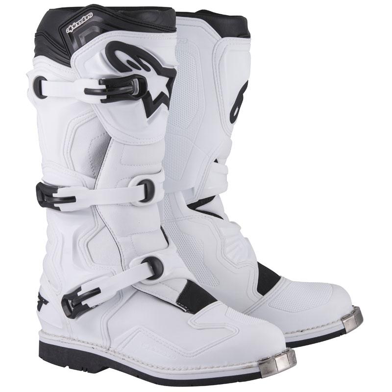 Bottes Cross Alpinestars Tech 1 White