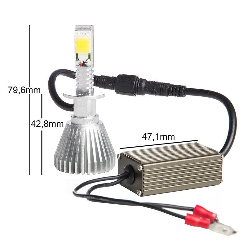 Ampoule Tecno Globe Led Ventile H1