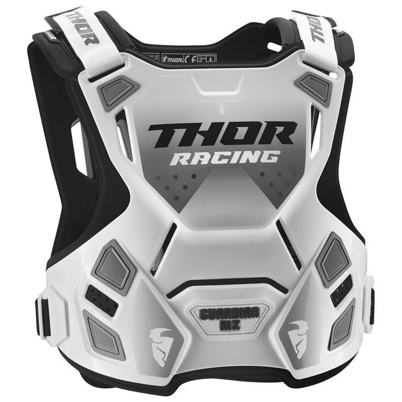 Plastron Thor GUARDIAN MX  WHITE BLACK 2021