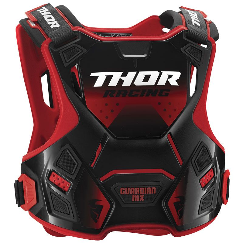 Plastron Thor GUARDIAN MX RED BLACK 2020