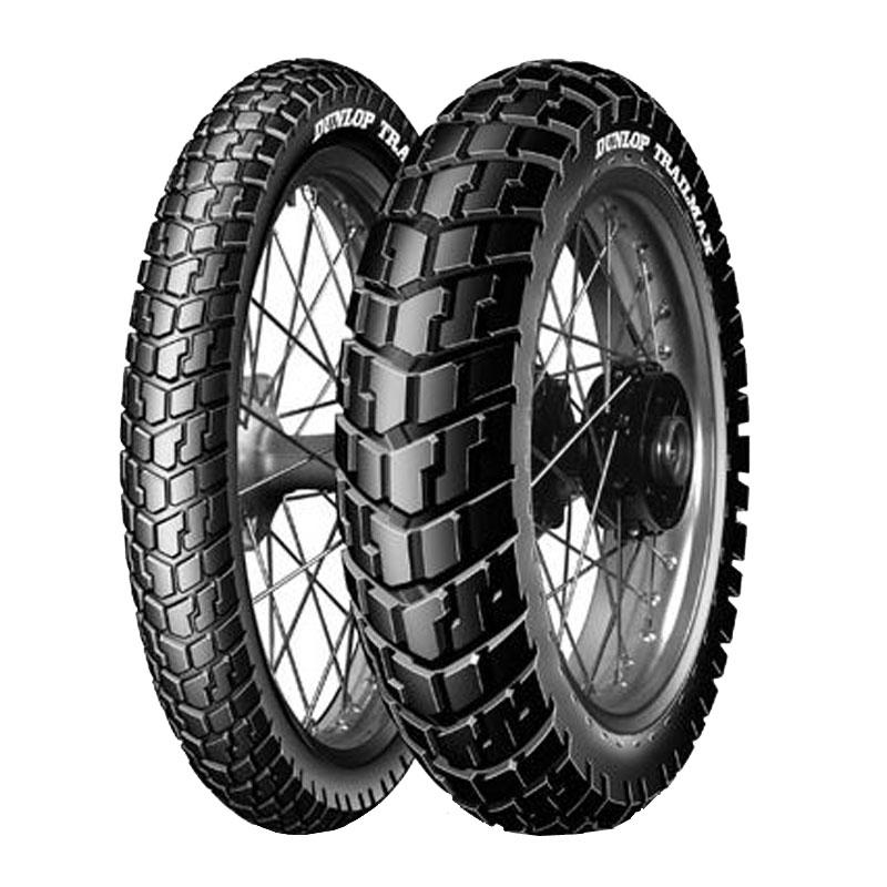 Pneumatique Dunlop TRAILMAX 130/90 - 10 (61J) TL