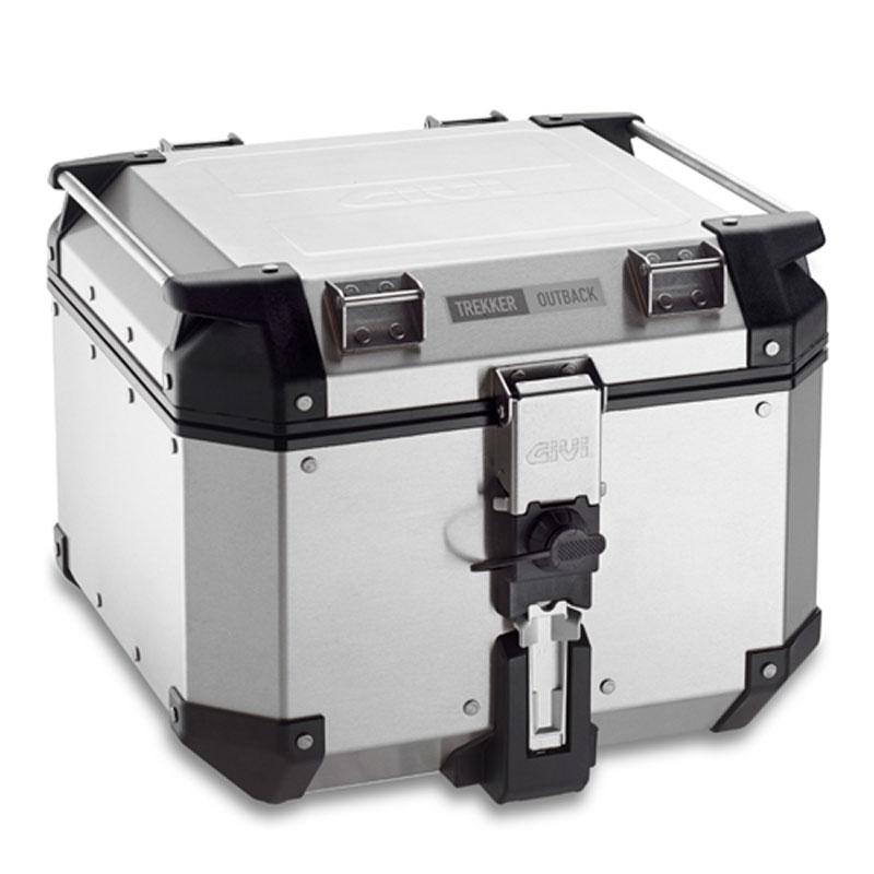 top case givi trekker outback alu 42l bagagerie moto. Black Bedroom Furniture Sets. Home Design Ideas