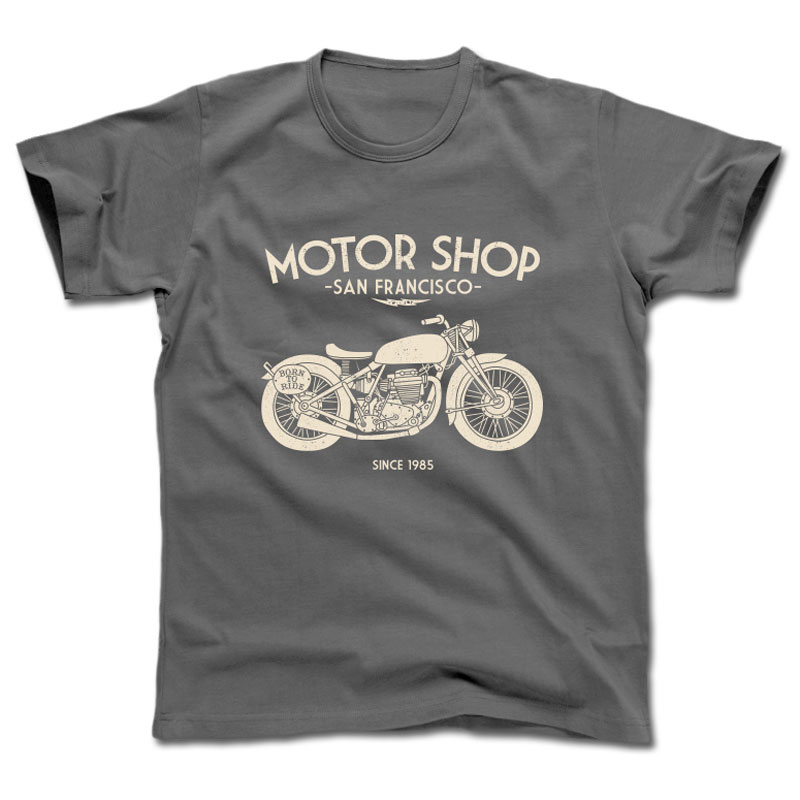 T-Shirt manches courtes Harisson MOTOR SHOP