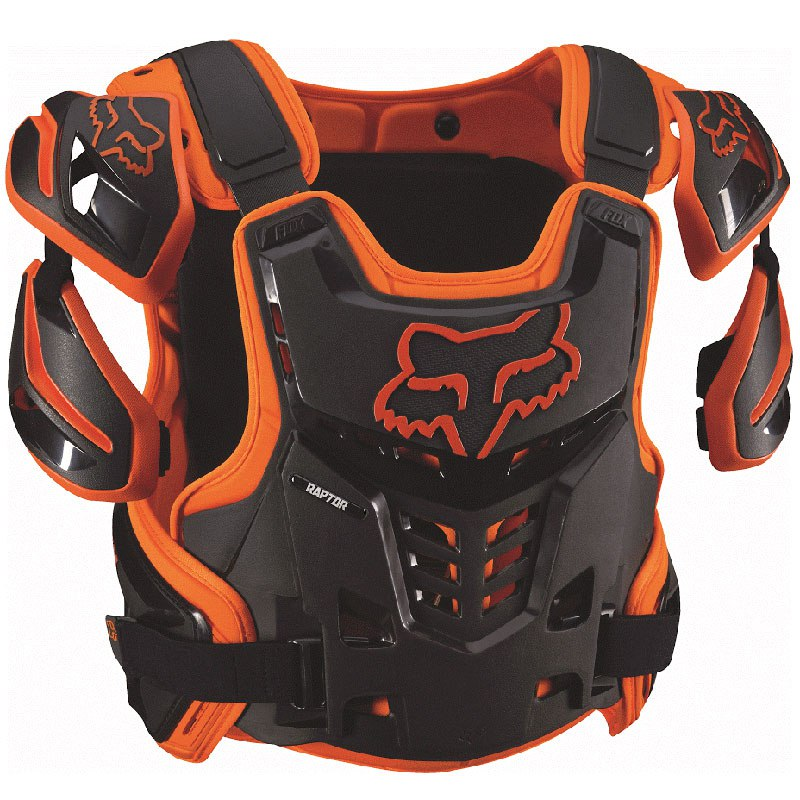 Plastron Fox RAPTOR VEST - ORANGE - 2019