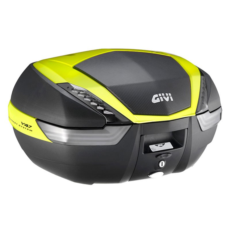 Top case Givi MONOKEY V47NNTFL TECH REFLECTEUR FUME DECO FLUO