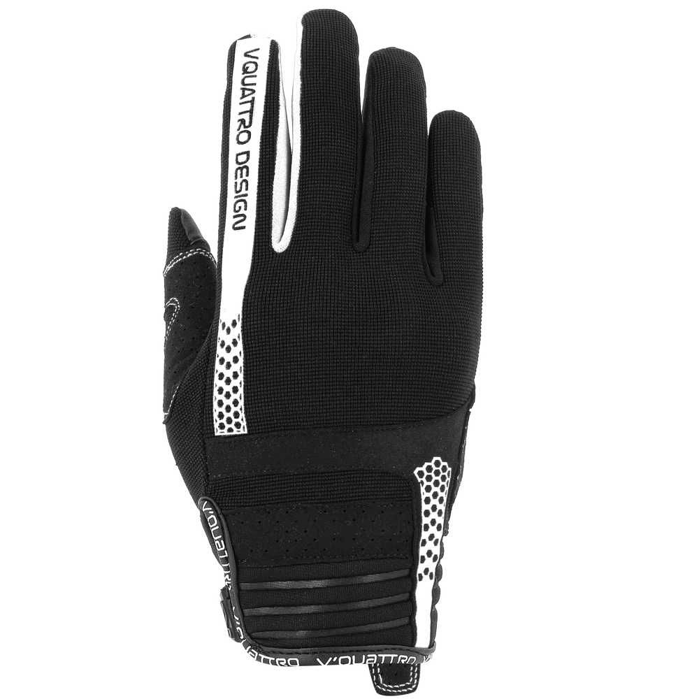 Gants V Quattro RUSH 18 LADY BLACK/WHITE