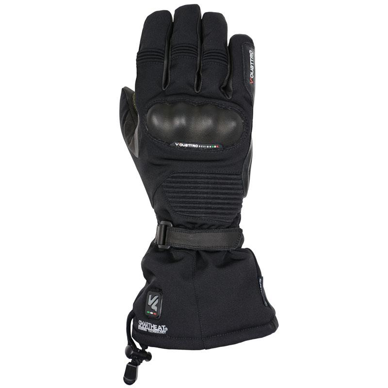 gants v quattro chauffants quantum vendre gants moto. Black Bedroom Furniture Sets. Home Design Ideas