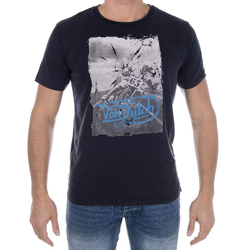 T-shirt Manches Courtes Von Dutch Acid Wash