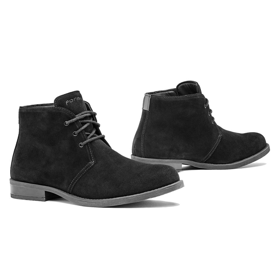 A-pro Chaussures Moto Motard Cuir Textile Bottes Roadster Renforc/ées noir 41