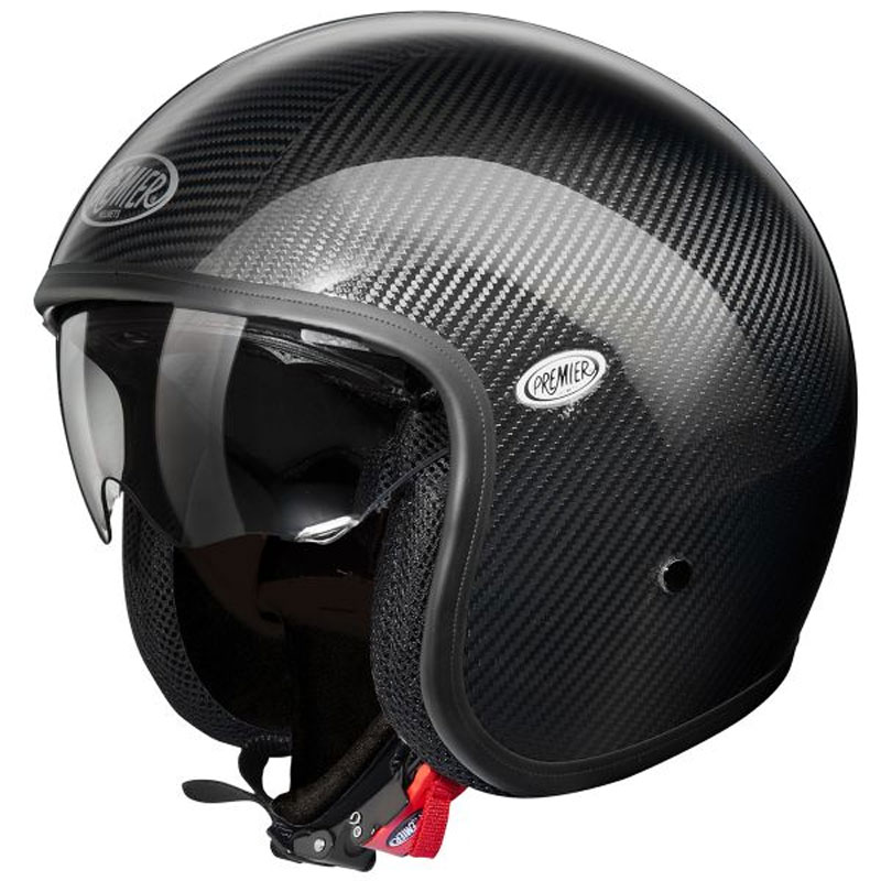 Casque premier vintage carbon interieur noir casque for Carbon interieur