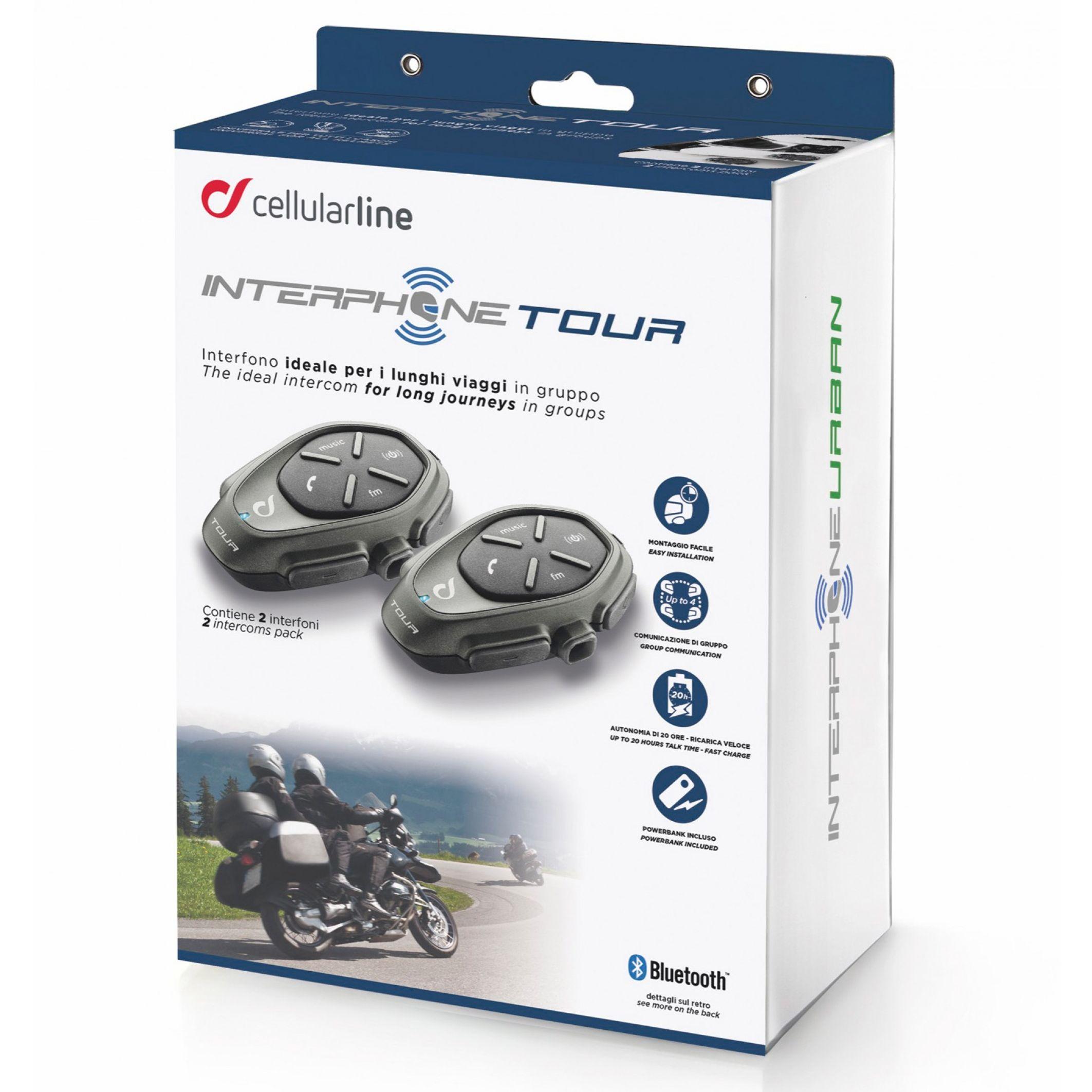 Intercom Cellular Line Tour Twin Pack