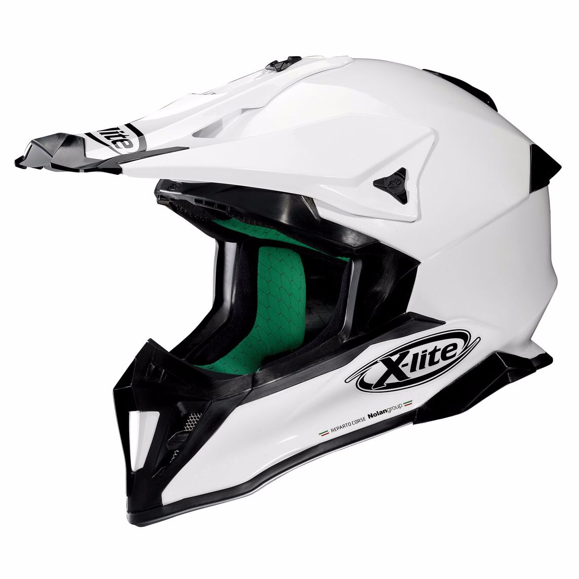 Casque Cross X-lite X-502 - Start Metal White 3