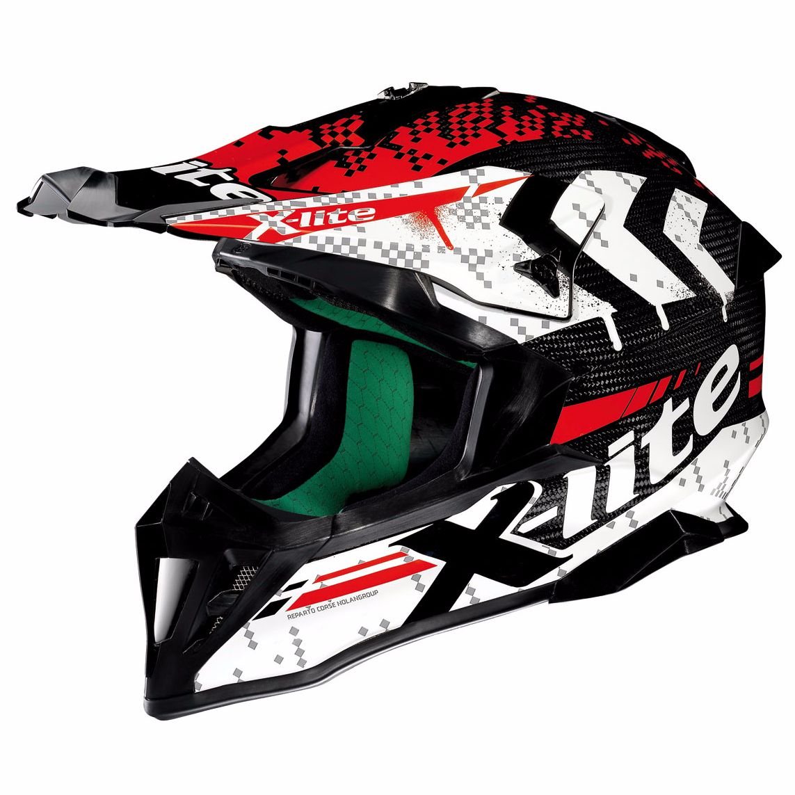 Casque Cross X-lite X-502 Ultra Carbon - Nac-nac Carbon 3