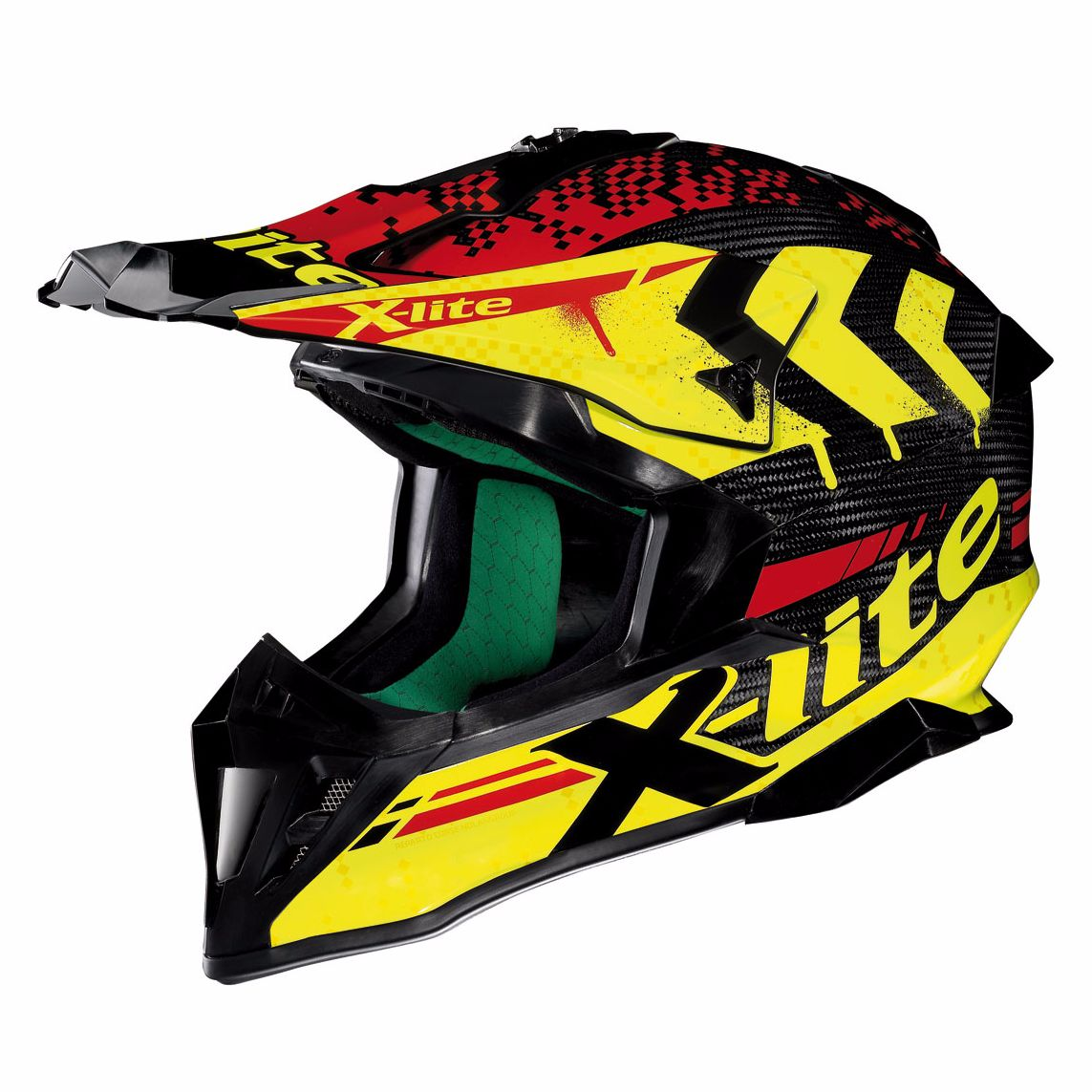 Casque Cross X-lite X-502 Ultra Carbon - Nac-nac Carbon 4