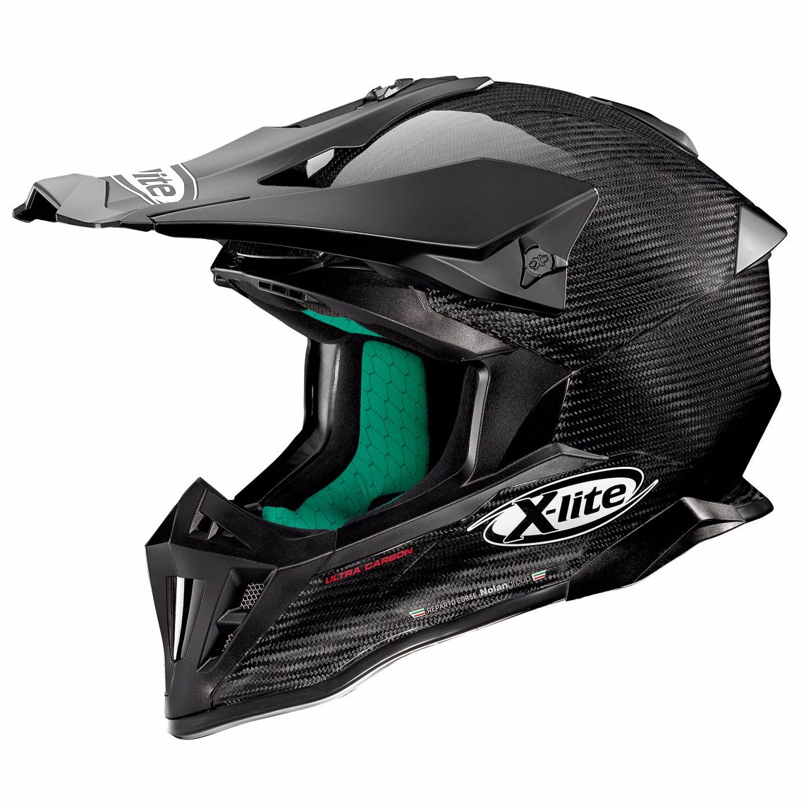 Casque Cross X-lite X-502 Ultra Carbon - Puro Carbon 1