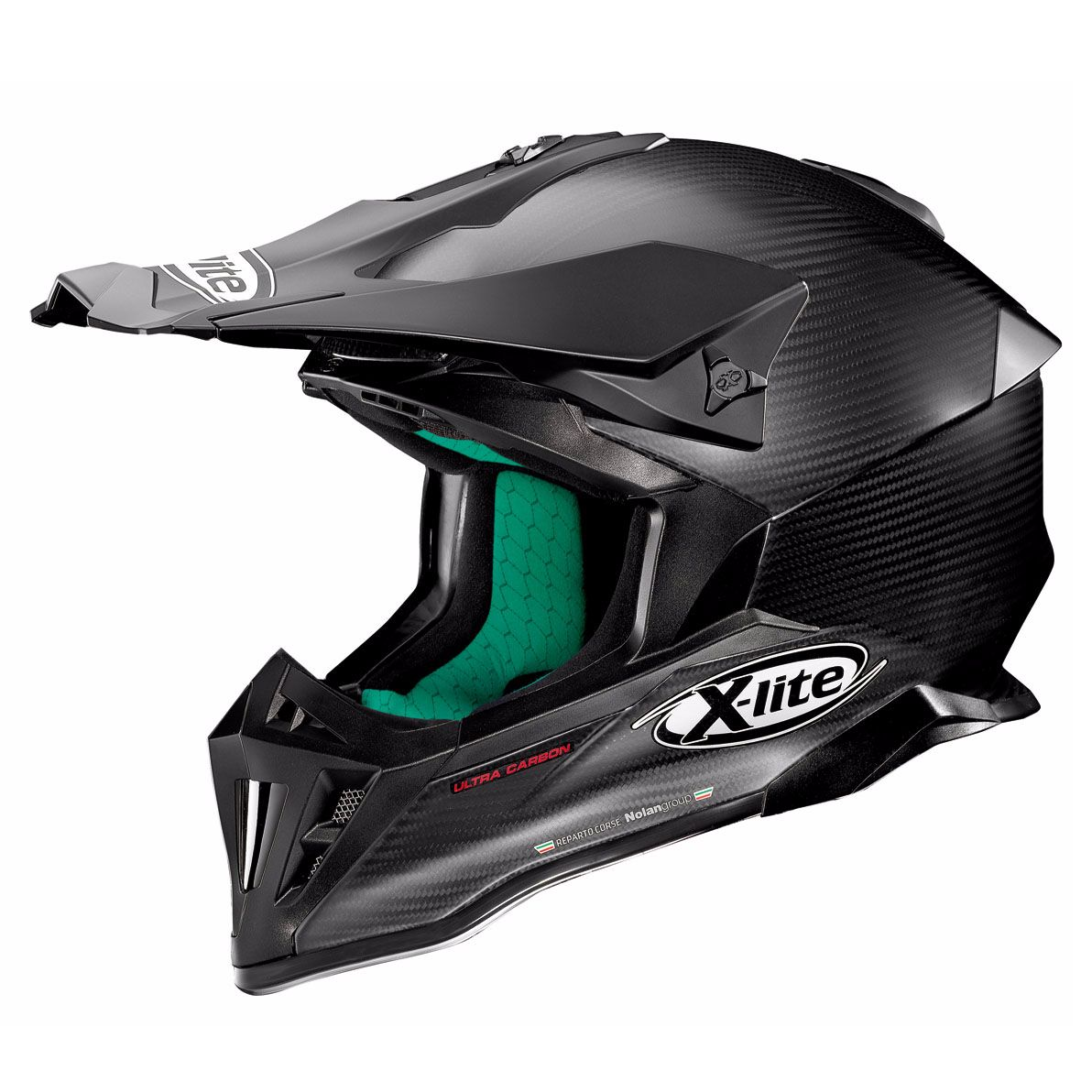 Casque Cross X-lite X-502 Ultra Carbon - Puro Flat Carbon 2