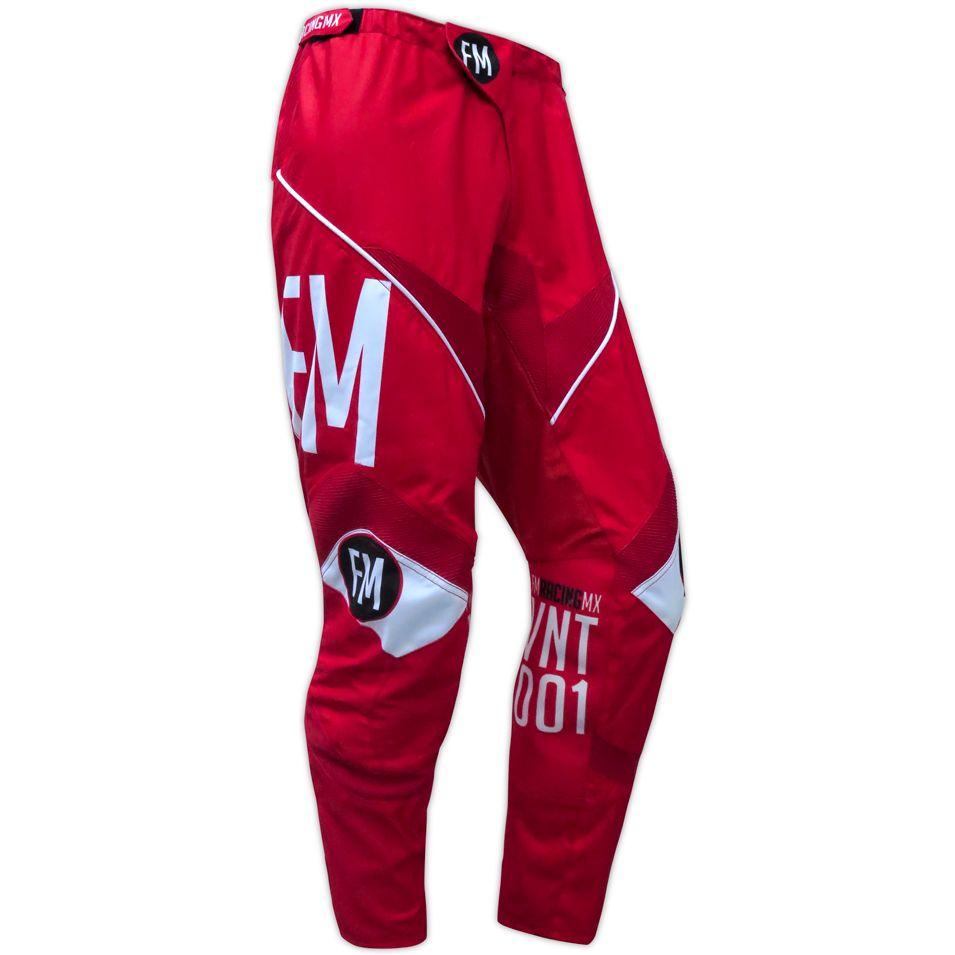 Pantalon cross FM Racing VINTAGE RED 2018
