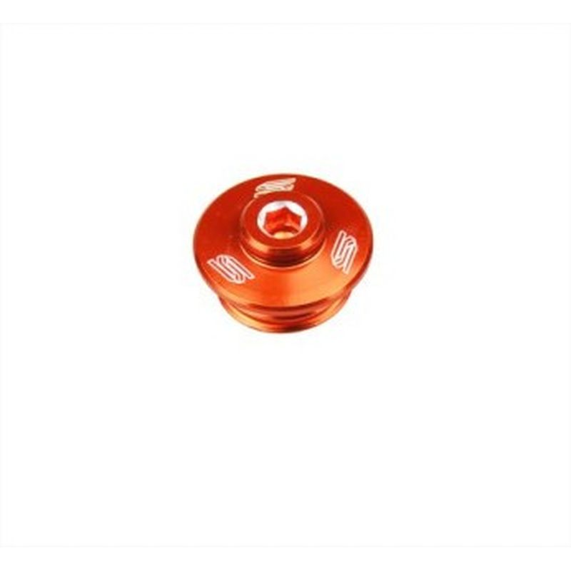 Bouchon De Carter D'huile Scar Anodisé Orange
