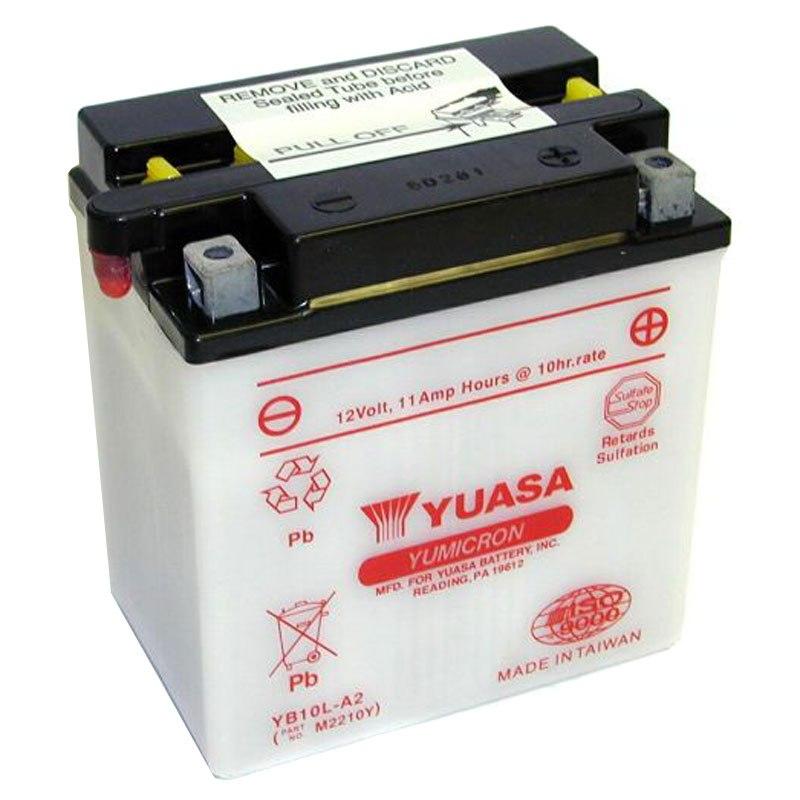 batterie yuasa yb10l a2 ouvert sans acide type acide batteries. Black Bedroom Furniture Sets. Home Design Ideas