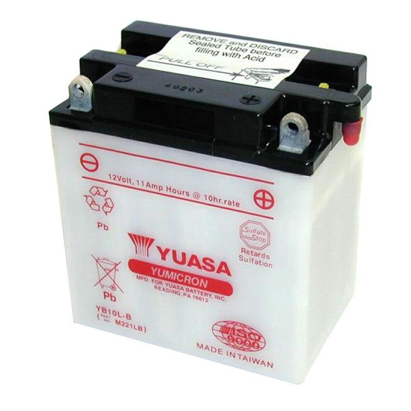 batterie yuasa yb10l b ouvert sans acide type acide batteries. Black Bedroom Furniture Sets. Home Design Ideas